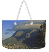 Lenticular Cloud Over Table Mountain Weekender Tote Bag