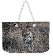 Leopard Hunt Weekender Tote Bag