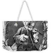 Leopold Mozart (1719-1787) Weekender Tote Bag