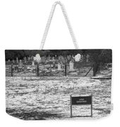 Leper Graveyard On Robben Island Weekender Tote Bag