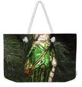 Leprechaun Christmas Ornament Weekender Tote Bag