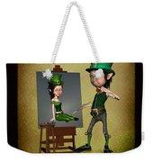 Leprechaun Painter Weekender Tote Bag