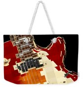 Classic Guitar Abstract Weekender Tote Bag