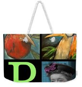 Let Me Tell You Bout The Birds And Weekender Tote Bag by Tim Nyberg