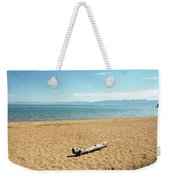 Let Sleeping Logs Lie Weekender Tote Bag