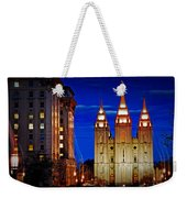 Let Your Light Shine Weekender Tote Bag by La Rae  Roberts