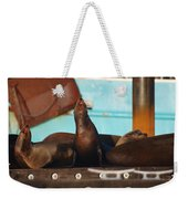 Lets Bark It Out Then Weekender Tote Bag