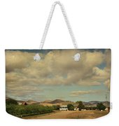 Let's Run Through The Orchard Weekender Tote Bag