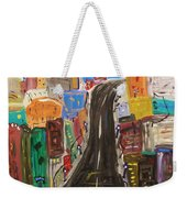 Let's Turn Up This Street Weekender Tote Bag