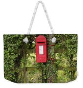 Letterbox In A Hedge Weekender Tote Bag