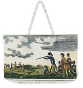 Lewis & Clark: Native American, 1811 Weekender Tote Bag