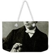 Lewis Carroll, English Author Weekender Tote Bag by Photo Researchers