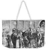 Liberated Slaves, 1861 Weekender Tote Bag by Photo Researchers