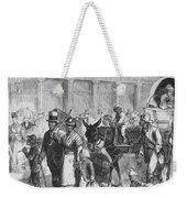 Liberated Slaves, 1861 Weekender Tote Bag