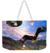 Liberty And Freedom Weekender Tote Bag