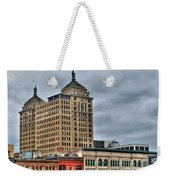 Liberty Building And Hotel Lafayette Weekender Tote Bag