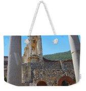 Library Of Celsus And Columns Weekender Tote Bag