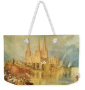 Lichfield Weekender Tote Bag by Joseph Mallord William Turner