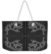 Licorice And Lace Weekender Tote Bag