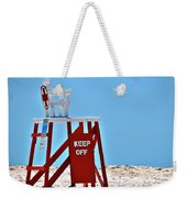 Life Guard Stand Weekender Tote Bag