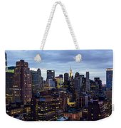 Life In The Big City Weekender Tote Bag