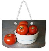 Life Is Not A Bowl Of Cherries - Life Is A Bowl Of Tomatoes Weekender Tote Bag