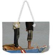 Life On Lake Tonle Sap 4 Weekender Tote Bag