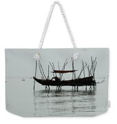 Life On Lake Tonle Sap  Weekender Tote Bag