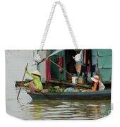 Life On Lake Yonle Sap 9 Weekender Tote Bag