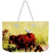 Life On The Farm V4 Weekender Tote Bag