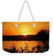 Life On The Susquehanna Weekender Tote Bag