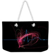 Life Signs Weekender Tote Bag