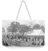 Life-sized Chess, 1882 Weekender Tote Bag