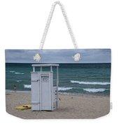 Lifeguard Station At The Beach Weekender Tote Bag