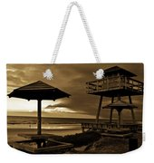 World War II Coastal Watchtower Weekender Tote Bag