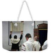 Lift Up The Torah Weekender Tote Bag