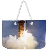 Liftoff Of The Saturn Ib Launch Vehicle Weekender Tote Bag