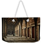 Light And Shadow Weekender Tote Bag by Joan Carroll