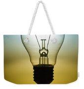 Light Bulb Weekender Tote Bag by Setsiri Silapasuwanchai