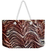 Light Micrograph Of Smooth Muscle Tissue Weekender Tote Bag