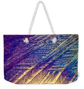 Light Micrograph Of Zalcitabine Ddc Weekender Tote Bag