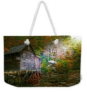 Light On The Mill Weekender Tote Bag