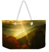 Light On The Moutain Weekender Tote Bag