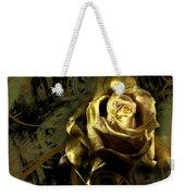 Light Painted Rose Weekender Tote Bag