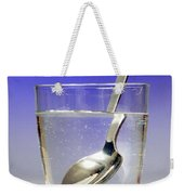 Light Refraction Demonstration Weekender Tote Bag by Photo Researchers, Inc.
