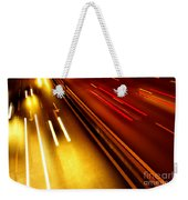 Light Trails Weekender Tote Bag