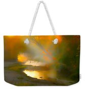 Light Up The Creek Weekender Tote Bag