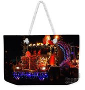 Lighted Cement Truck Weekender Tote Bag