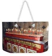 Lighted Incense Sticks Weekender Tote Bag