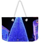 Lighted Xmas Tree Walt Disney World Weekender Tote Bag